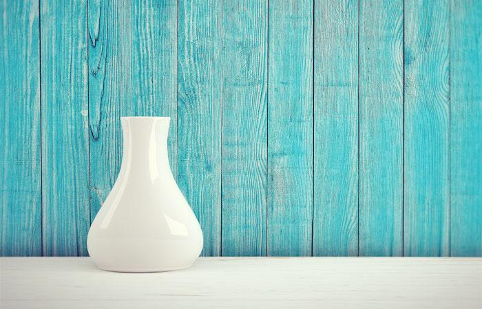 きれいな花瓶