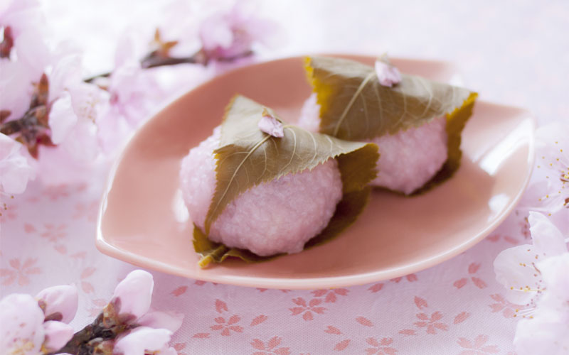 桜の葉の塩漬け(桜餅)